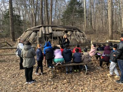Second Grade Field Trip to Riverbend Park