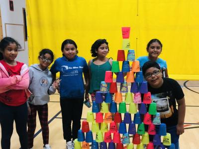 Students enjoy our first ever Fall Field Day