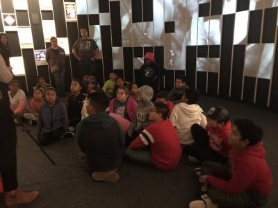 Fifth graders visit the National Museum of the American Indian